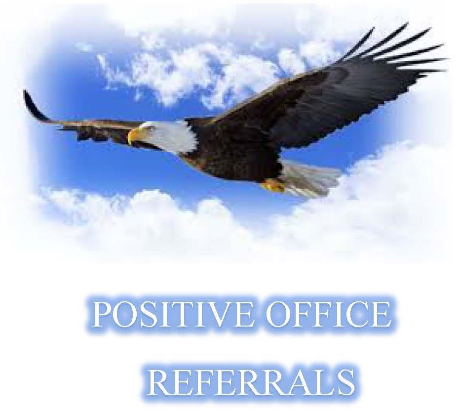 Positive Office Referrals - Updated Weekly